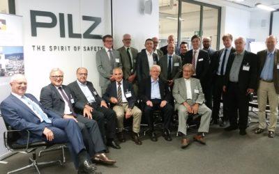 Firmenbesichtigung PILZ GmbH & Co. KG